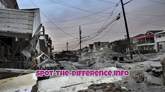 Differenza tra Superstorm e Hurricane