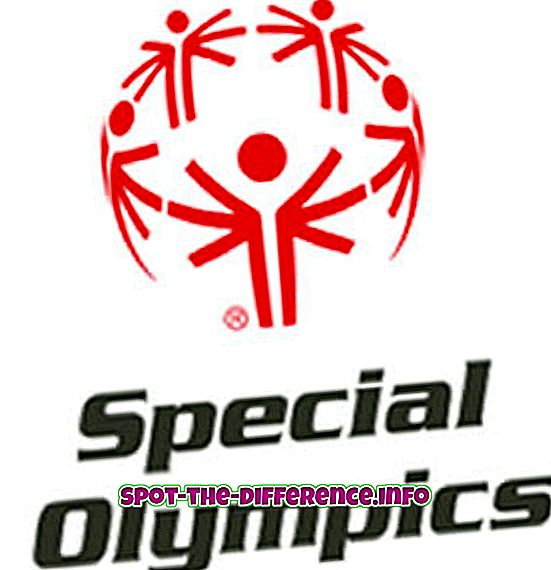 differenza tra: Differenza tra Special Olympics e Paralympics