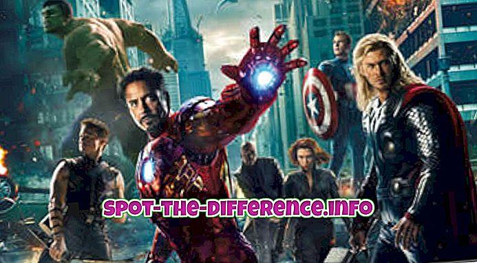 Diferencia entre cine y cine.