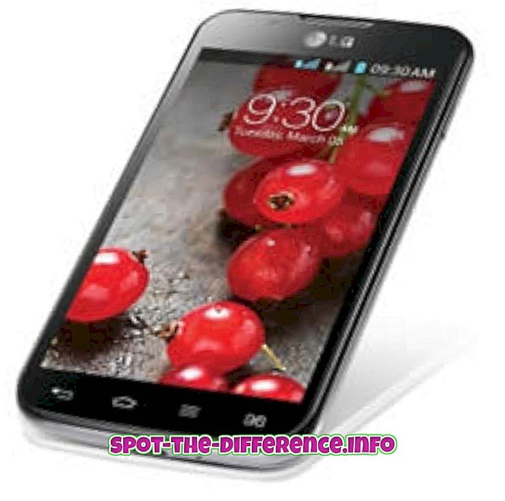 Differenza tra LG Optimus L7 II Dual e Nexus 4