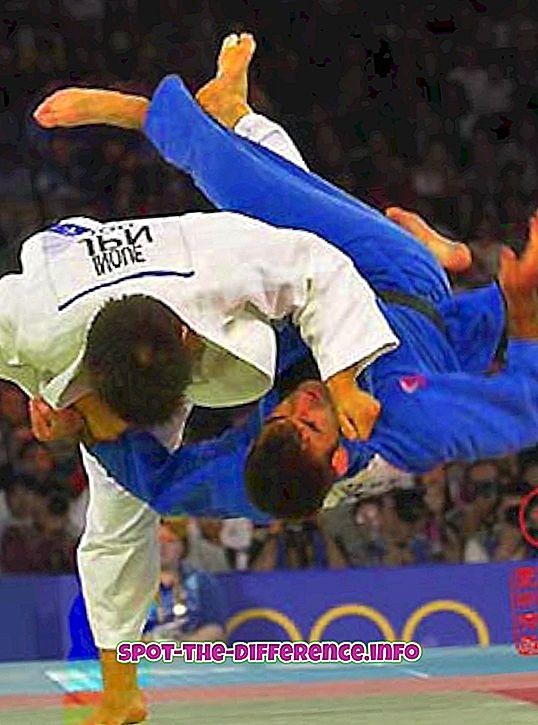 Différence entre le judo et l'aïkido