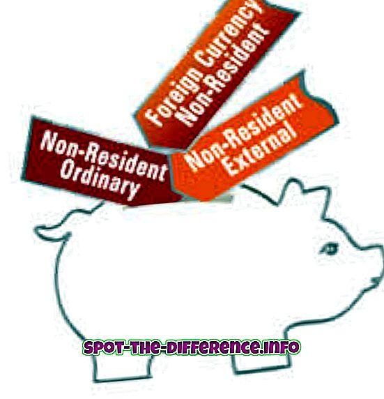 Unterschied zwischen NRE-, NRI- und NRO-Konten