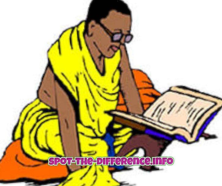Brahmini ja Punditi vaheline erinevus