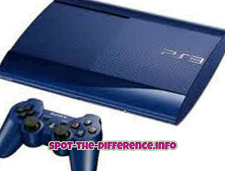 populære sammenligninger: Forskjell mellom PS3 og PS4