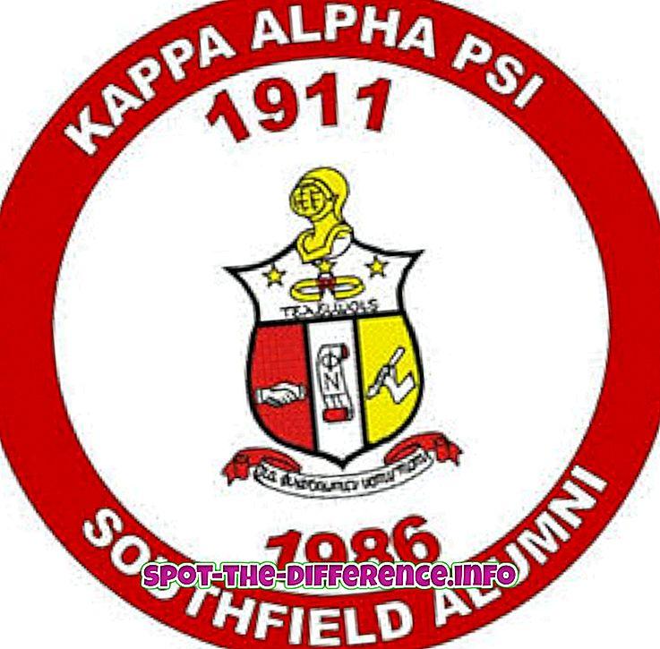 populære sammenligninger: Forskjellen mellom Kappa og Nupe