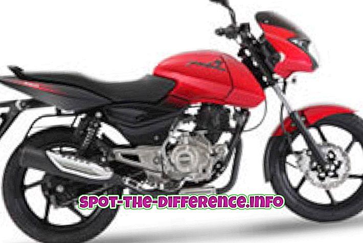 confronti popolari: Differenza tra Pulsar 150 e CBZ Xtreme