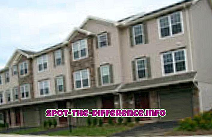 Unterschied zwischen Townhouse und Duplex