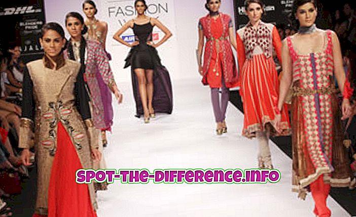 Razlika između modela i supermodela