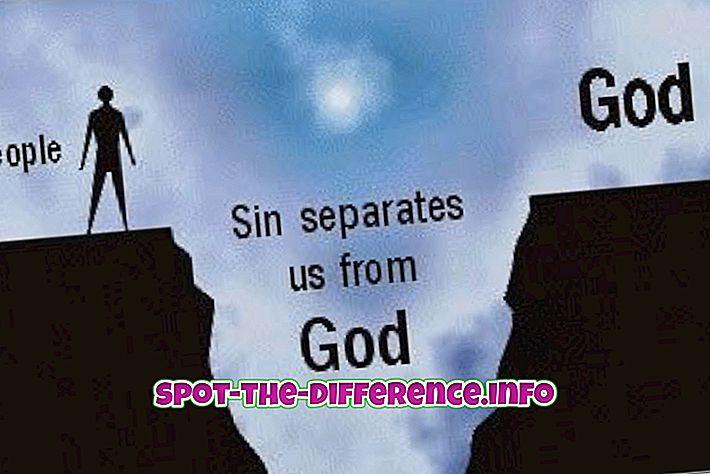 Verschil tussen zonde en immoraliteit