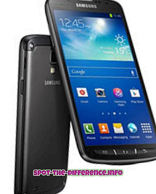 Rozdiel medzi Samsung Galaxy S4 Active a Nokia Lumia 925