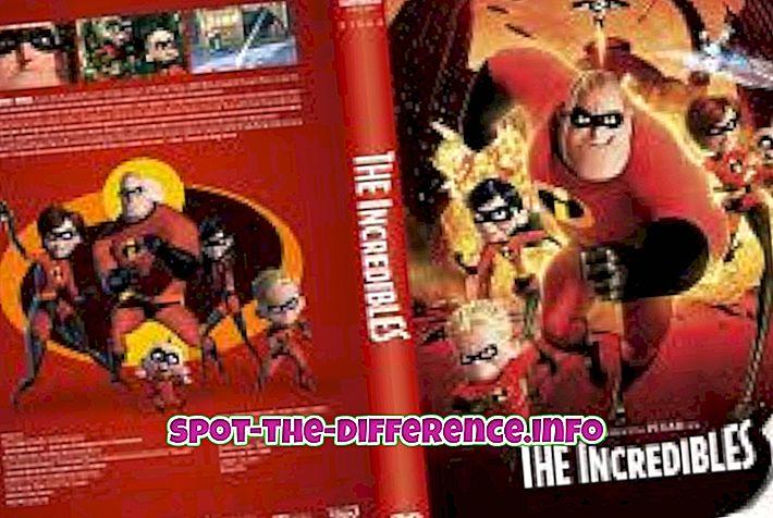 popularne usporedbe: Razlika između izvornog i piratskog DVD-a
