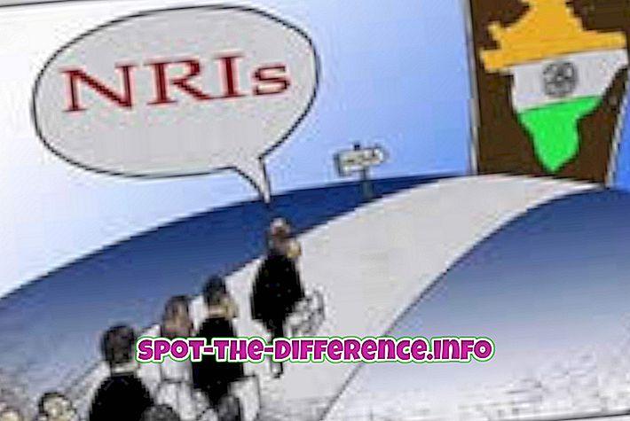 populaarsed võrdlused: Erinevus NRI ja NRE kontode vahel