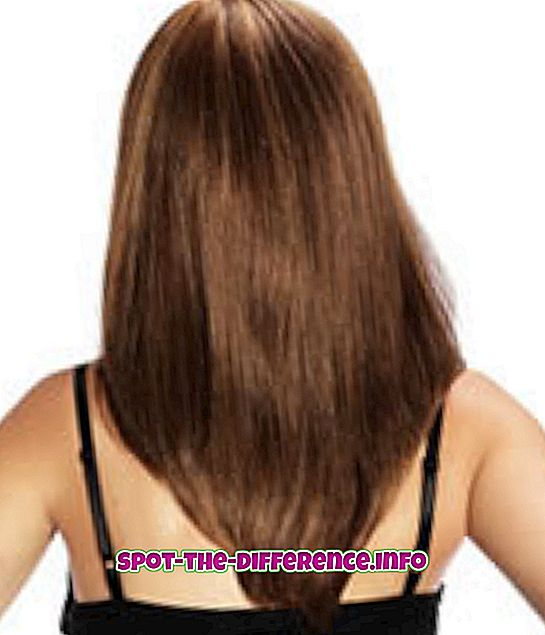 Разлика между косата и козината