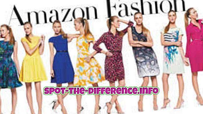tautas salīdzinājumi: Starpība starp modes un tendencēm