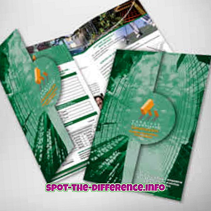 Differenza tra brochure e catalogo