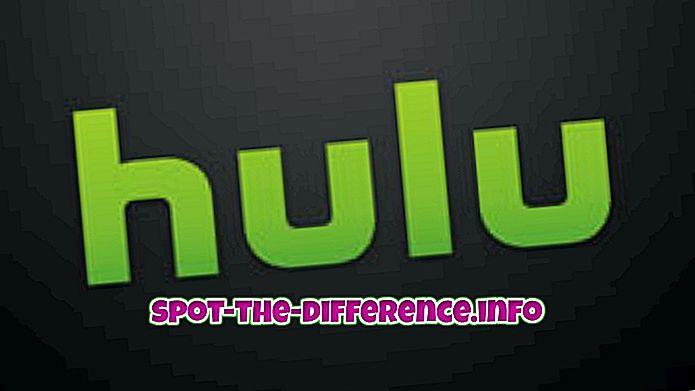 popüler karşılaştırmalar: Hulu ve Hulu Plus arasındaki fark