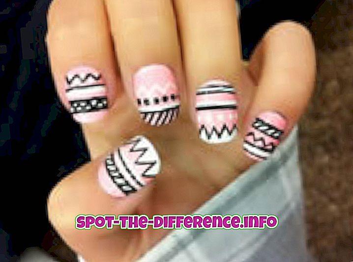 comparaisons populaires: Différence entre les ongles en acrylique, en soie et en gel