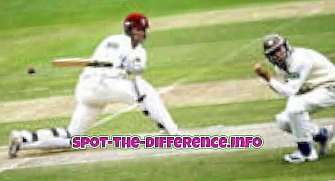 comparaisons populaires: Différence entre le cricket et le baseball