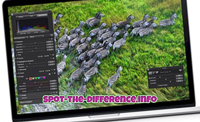 MacBook Pro와 MacBook Pro Retina의 차이점
