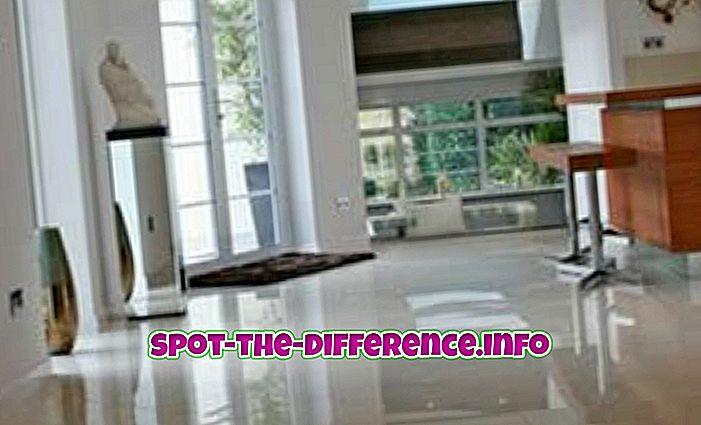 популарна поређења: Разлика између керамичких плочица и керамичких плочица