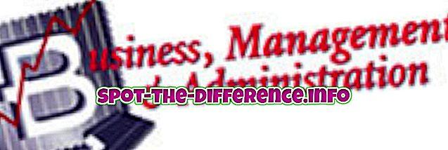 Differenza tra gestione e amministrazione