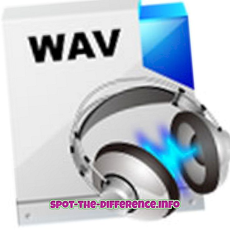 Atšķirība starp WAV un WMA audio failu formātu