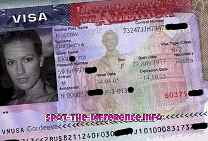 A vízum és a munkaengedély közötti különbség