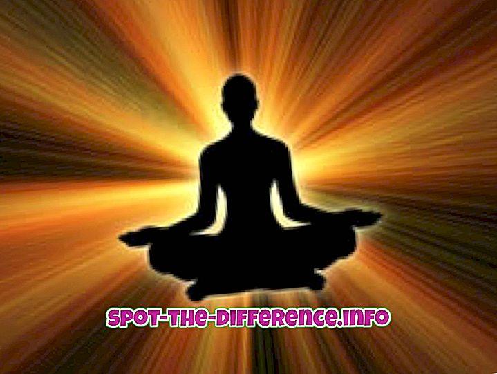 популарна поређења: Разлика између јоге и аеробика