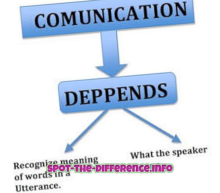 populära jämförelser: Skillnad mellan semantik och pragmatik