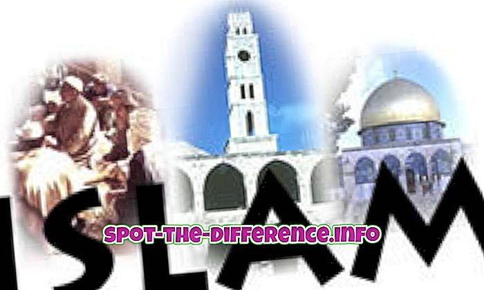 Verschil tussen islam en moslim