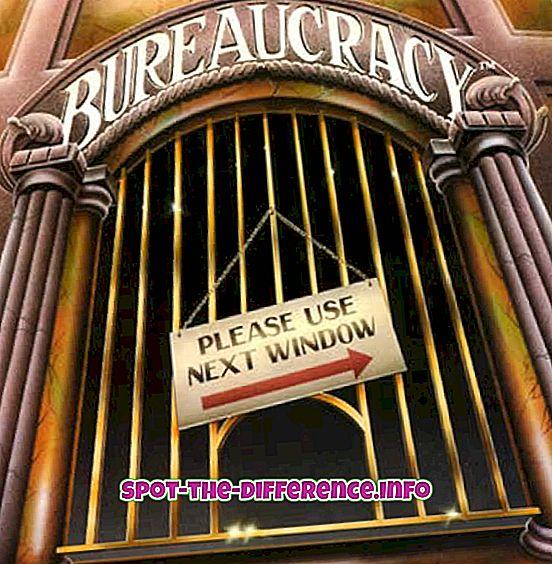 Forskel mellem demokrati og bureaukrati