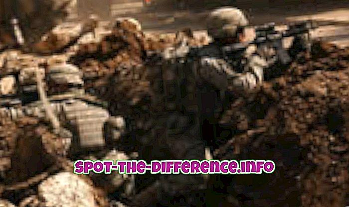Perbedaan antara Angkatan Darat dan Angkatan Laut