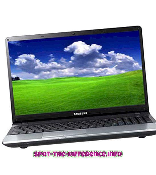 Różnica między laptopem a tabletem
