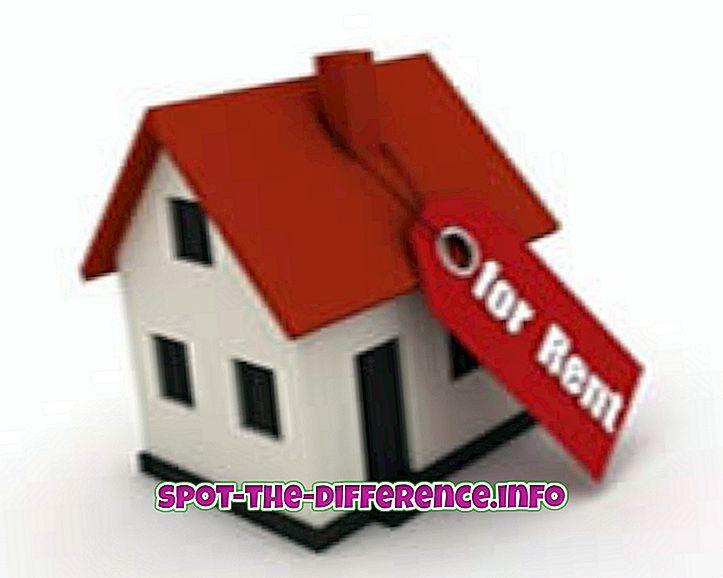 Unterschied zwischen gemietetem Haus und zahlendem Gast