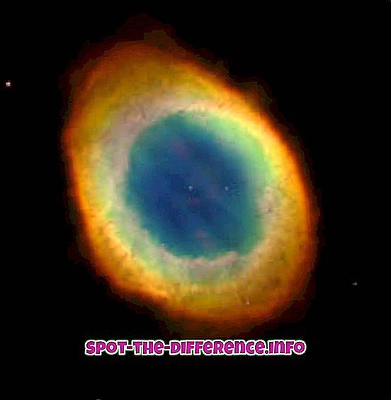 星雲と太陽星雲の違い