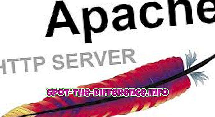 Unterschied zwischen Apache und Httpd