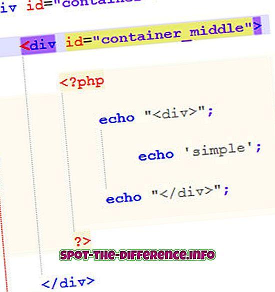Unterschied zwischen Echo und Print in PHP