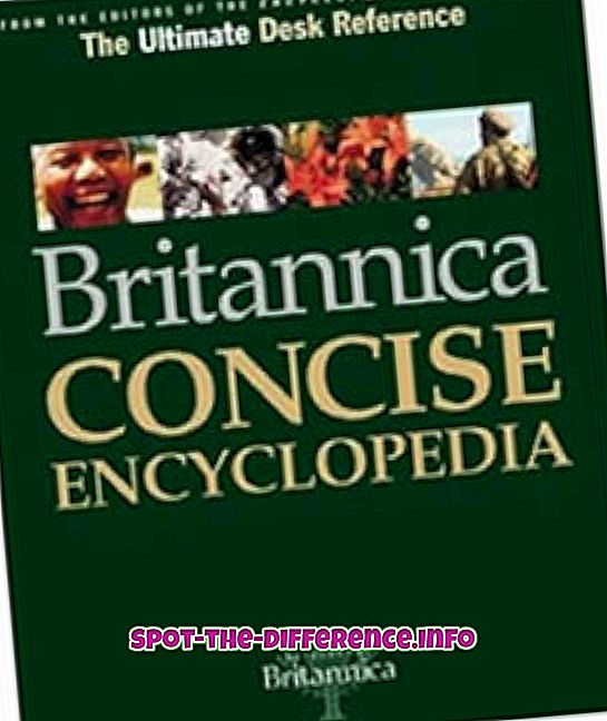 Razlika između enciklopedije i rječnika