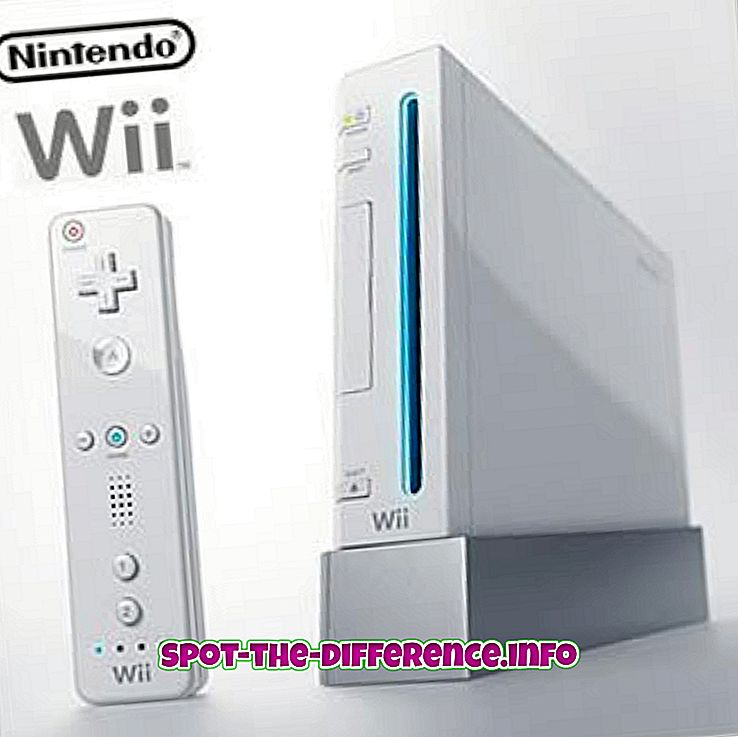 confronti popolari: Differenza tra Nintendo Wii e Wii Mini