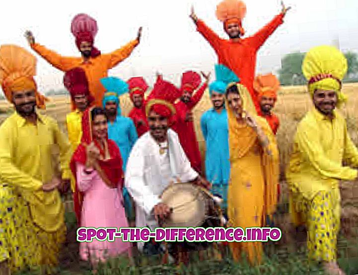 Starpība starp Punjabi un Sikh