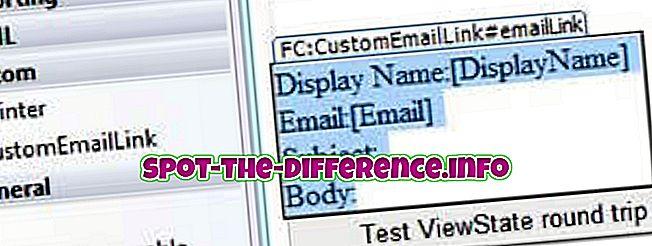 populaarsed võrdlused: Kasutaja kontrolli ja kohandatud kontrolli erinevus