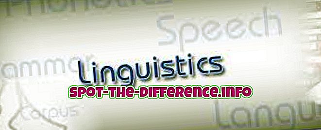 popularne usporedbe: Razlika između fonetike i lingvistike