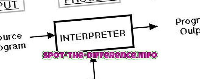 Różnica między tłumaczem a kompilatorem