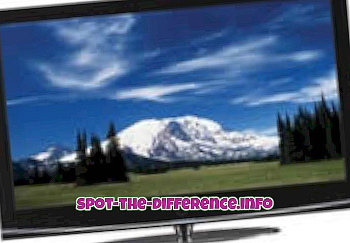 Różnica między HDTV a plazmą