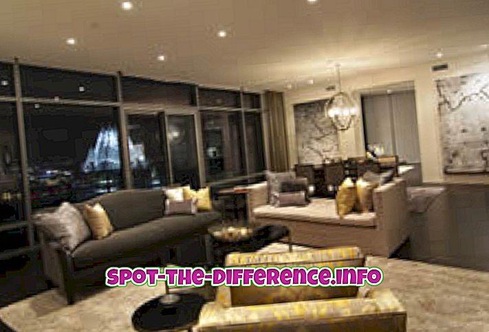 so sánh phổ biến: Sự khác biệt giữa căn hộ và căn hộ