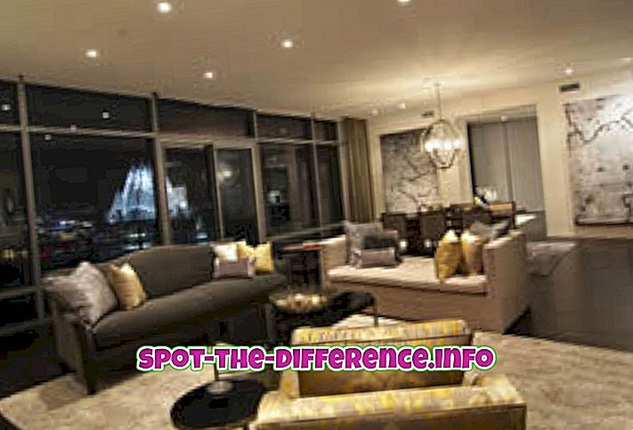 Diferența dintre apartament și apartament