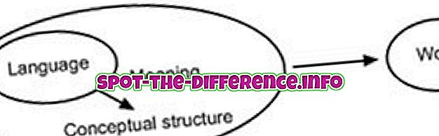populära jämförelser: Skillnad mellan semantik och syntax
