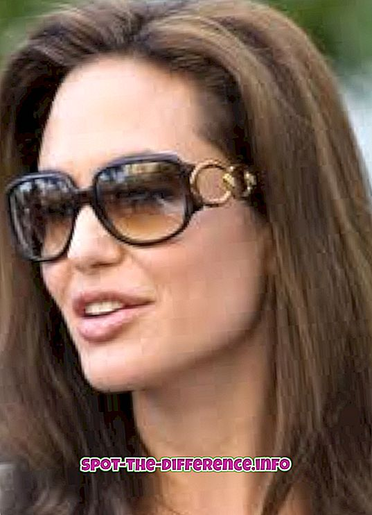 perbandingan populer: Perbedaan antara Kacamata dan Kacamata
