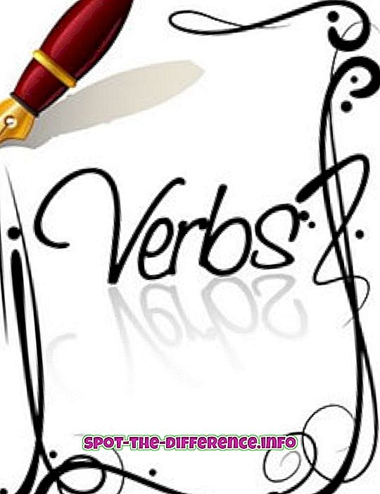 suosittuja vertailuja: Verbin ja adjektiivin välinen ero