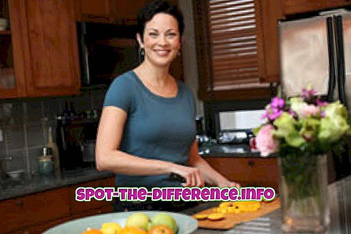 populárne porovnania: Rozdiel medzi Cook a Chef